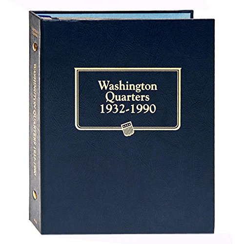 Whitman US Washington Quarter Coin Album 1932 - 1990 for sale  Delivered anywhere in USA