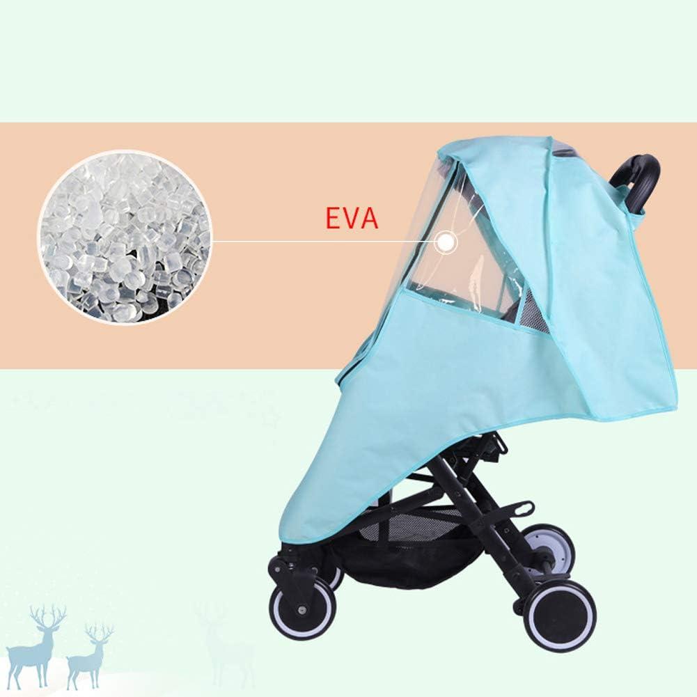 Cubierta Universal para Beb/é Coche Cochecito Protecci/ón de Lluvia Viento Protector de Agua Polvo para beb/és Happy Cherry