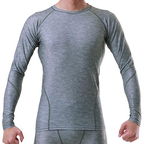 寛大さ爪ブロッサムPONTAPES(ポンタペス) 全7色 コンプレッションウェア シャツ 長袖 吸汗速乾 抗菌防臭加工 四季通年用 PCS-500