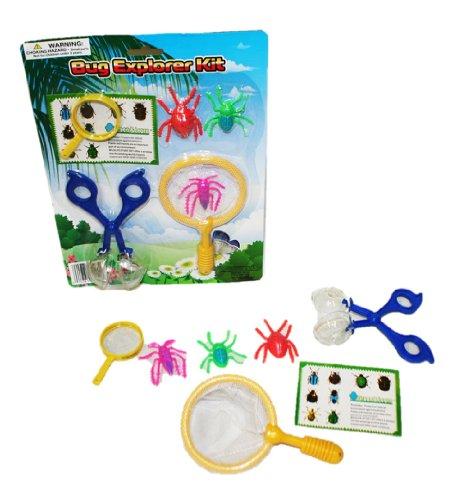 7 Piece BUGS Explorer Kit! Catch Em', Study Em' and Have Fun