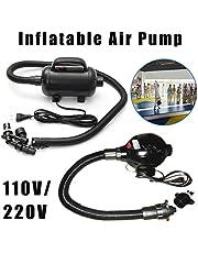 Essort Pompa di Aria elettrica, Gym Mat Air Tumbling Gymnastics Tae, Pumpe Luftmatratze, Elektric Air Pumpe Elektrische Pump, 220V
