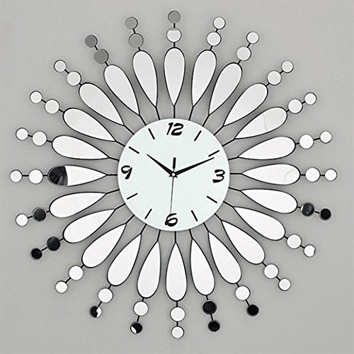 MCC Modern Mute Quartz Clock Table Dot Type Creative Acrylic Mirror Wall Clock , dot type (Mixing Desk Analogue)