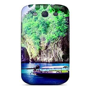 IWMxdLz1824JgJdd LisaMichelle Parked Boat Feeling Galaxy S3 On Your Style Birthday Gift Cover Case