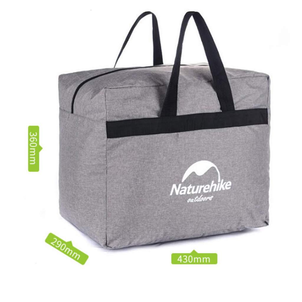 MagiDeal Gro/ße Kapazit/ät Faltbare Reisetasche Leichte Sporttasche mit Zwei Rei/ßverschl/üssen und Seitengriff Aufbewahrungsbeutel f/ür Auto Wandern Camping