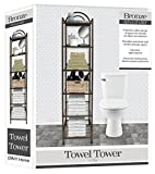DINY Home & Style Deluxe Spa Tower 6 Tier Towel & Bathroom Accessory Rack Oil Rubbed Bronze … Metal