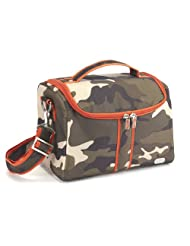 Lug Tackle Box Lunch Tote, Camo Olive, One Size