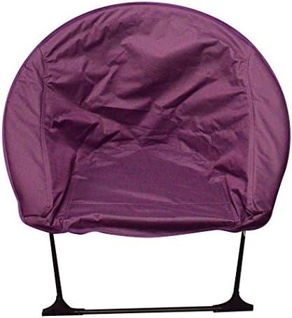 Impact Canopy Luna Lightweight Portable Folding Dorm Chair, Purple