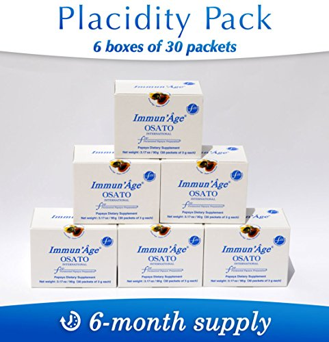 Antioxidative/Immune Systems Support Immun'Âge Placidity 180 packets by Immun'âge OSATO - Official Distributor USA