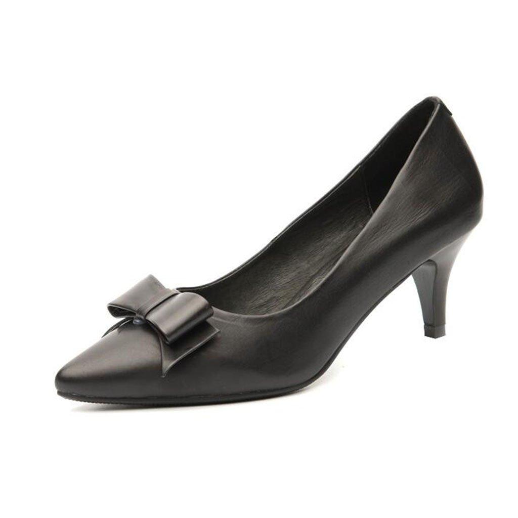 XUERUI Sra. Zapatos De Tacón Alto Stilettos Ceremonia De La Boda Graduación Trabajo Zapatos De Novia Impermeable Estable Acogedor Tacón 5cm ( Color : 1 , Tamaño : EU36/UK4/CN36 ) EU36/UK4/CN36