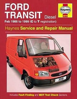 ford transit diesel service and repair manual 1986 1999 anon rh amazon com Ford Windstar Repair Manual ford transit connect repair service manual