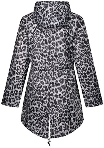 Donna Finesse Raindrops Impermeabile Leopard Giacca By Print qRwzIw