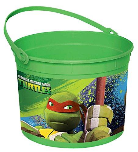 Teenage Mutant Ninja Turtles Favor Pail - Teenage Halloween Ideas