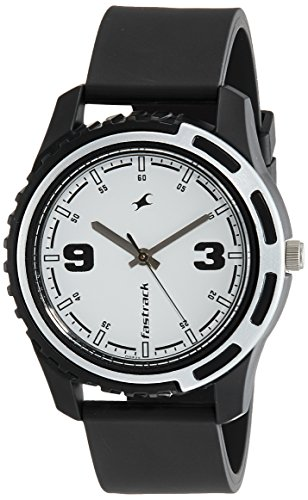 Fastrack Casual Analog White Dial Men's Watch NM3114PP01/NN3114PP01