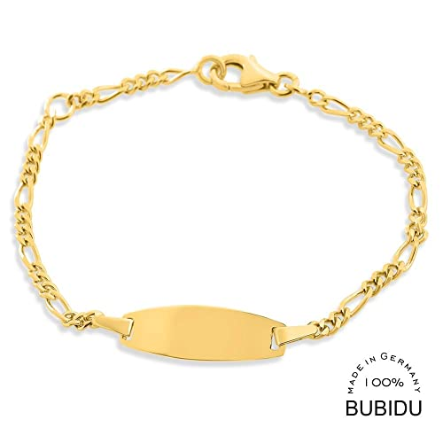 Id Kinderarmband Gold Mit Gravur Taufe 925 Silber Vergoldet