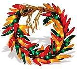 16 Inch Chili Pepper Wreath