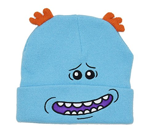 Evil Morty Costume (Bioworld Rick and Morty Meeseeks Costume Beanie Cap Hat)