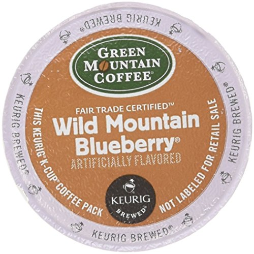 Green Mountain Coffee, Trap Mountain Blueberry K-Cup Portion Pack for Keurig Brewers, 24 count