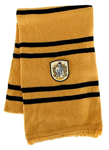 Harry Potter Hufflepuff House Deluxe Wool Scarf -