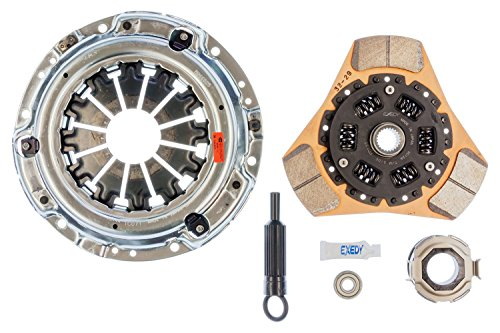 EXEDY Racing Clutch 15955 Stage 2 Cerametallic Clutch Kit Ductile Casting Thick Ceramic Facing 230mm 24T/25.2mm Spline Stage 2 Cerametallic Clutch (230 Mm Clutch)