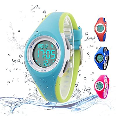 Kids Digital Sport Watch Outdoor Waterproof Watch with Alarm for Child Boy Girls Gift LED Kids Watch from Misskt