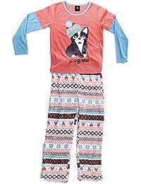 Two Piece Girls Pajamas Set