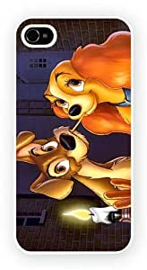 Lady and the Tramp, iPhone 6 PLUS & 6S PLUS glossy cell phone case / skin