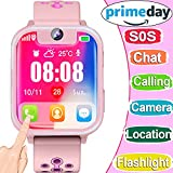 Smart Watch for Kids GPS Tracker Best Phone Watch Birthday Toys Gifts for Boys Girls 3-14 Years With Camera SOS Parents Remote App for iPhone Android Smartphone for Children Prime Electronic Learning