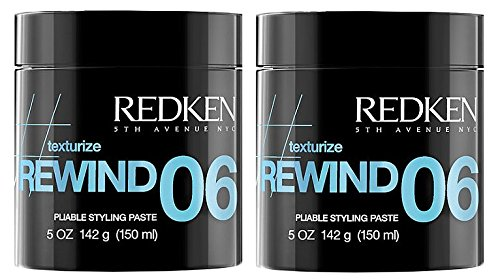 Redken Rewind 06 Pliable Styling Paste 5oz Pack of 2 by Redken
