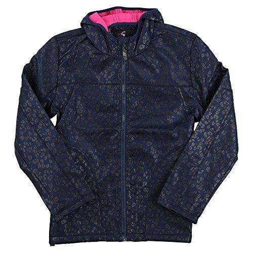 Women's Animal Print Full Zip Rain Jacket (Animal Print Zip Jacket)