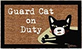 Grimm Door Mat - Guard Cat on Duty