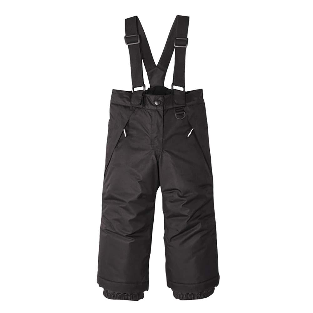 UDIY Little Kids Waterproof Snow Bibs Ski Snowpant with Detachable Suspenders 5-6 Years by UDIY