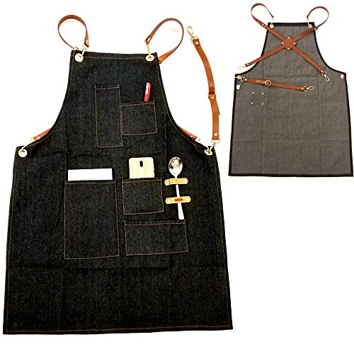 Beauty & Health Hair Care & Styling 1pcs Unisex Pro Salon Hairdressing Denim Apron Durable Hair Cutting Barber Capes Ajustable Workwear Cloth With Tool Pockets Shrink-Proof