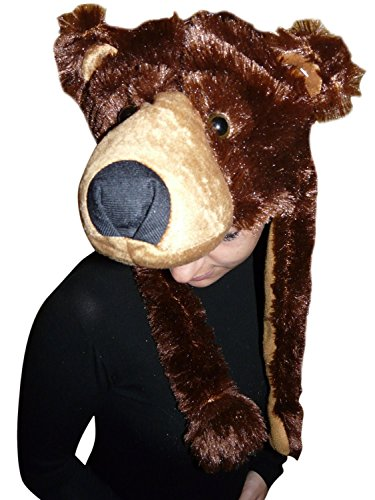 Fantasy World Brown Bear Hat, Halloween Costume for Men and Women, One Size, F75