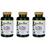 Swanson Tri-Fiber Complex 100 Capsules 3 Pack For Sale