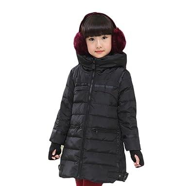 73e7409a3c03e X.N.S(希望) ガールズ ダウンジャケット 子供服 防寒 アウター コート キッズ 女の子 女児用