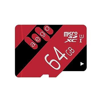 AEGO 64GB Tarjeta Micro SD UHS-1 Tarjeta de Memoria microSD Clase ...