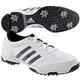 adidas Men's Pure 360 Lite  Golf Shoe, Running White/Core Black/Core Black, 9.5 M US