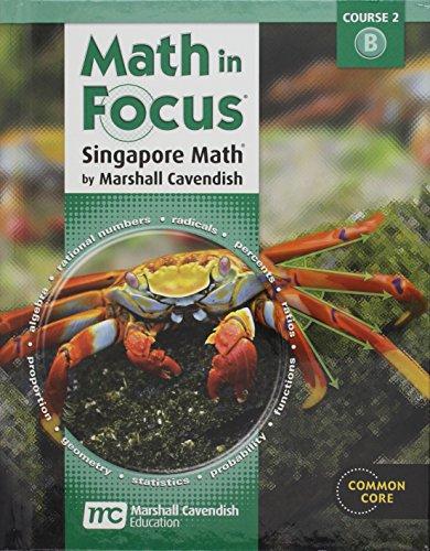 Math in Focus: Singapore Math Volume B Grade 7 (Student Text Math)