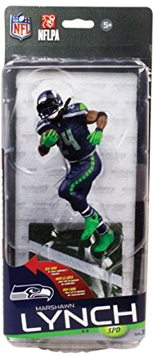 McFarlane Toys NFL Seattle Seahawks Sports Picks Series 35 Marshawn Lynch Exclusive Action Figure Mcfarlane Nfl Picks