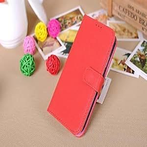 HOR Estilo de múltiples funciones de la carpeta de la PU de cuero de la caja resistente para Samsung Galaxy S4 i9500 (colores surtidos) , Blanco