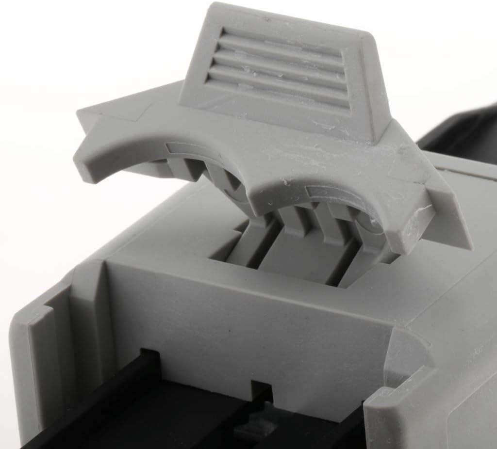 pour Colle en Plastique Colle M/étallique en Plastique 2: 1 perfk Mini Pistolet /à Double Cartouche pour Cartouches Bicomposant Colle Bicomposant