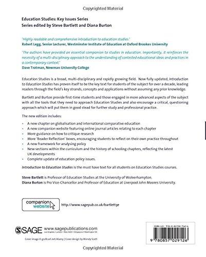 Buy Introduction to Education Studies (Education Studies