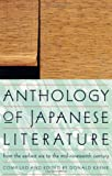 Anthology of Japanese Literature: From the Earliest Era to the Mid-Nineteenth Century (UNESCO Collection of Representative Works: European), , 0802150586
