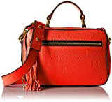 MILLY Astor Small Satchel, Flame