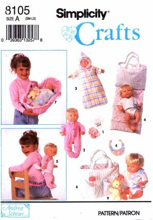 Simplicity Crafts Pattern Clothes Accessories