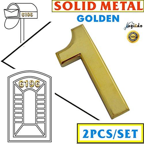 3 inch door numbers - 5