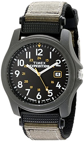 Timex T425714E – Reloj de cuarzo para hombres, correa de acero inoxidable, multicolor