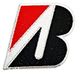 BRIDGESTONE Tires Motorsport bicycles Truck Patch Sew Iron on Logo Embroidered Badge Sign Emblem Costume BY Dreamhigh_skyland