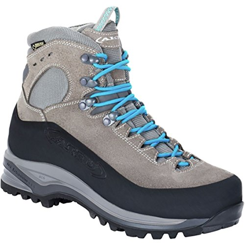 AKU Superalp GTX Backpacking Boot - Women's Light Grey/Turquoise, 9.5 by AKU