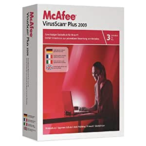 McAfee VirusScan Plus 2009 3-User [OLD VERSION]